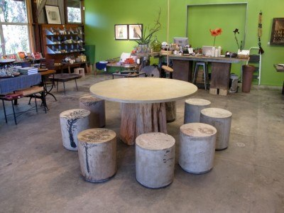 Pliny Seats & Tree Table