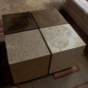 Square Concrete End Tables