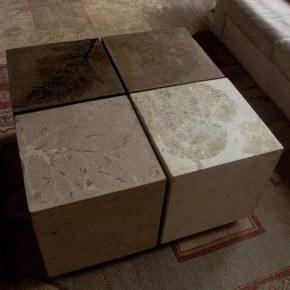 Square Concrete End Tables