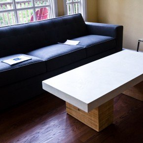 Split Block Cypress Coffee Table