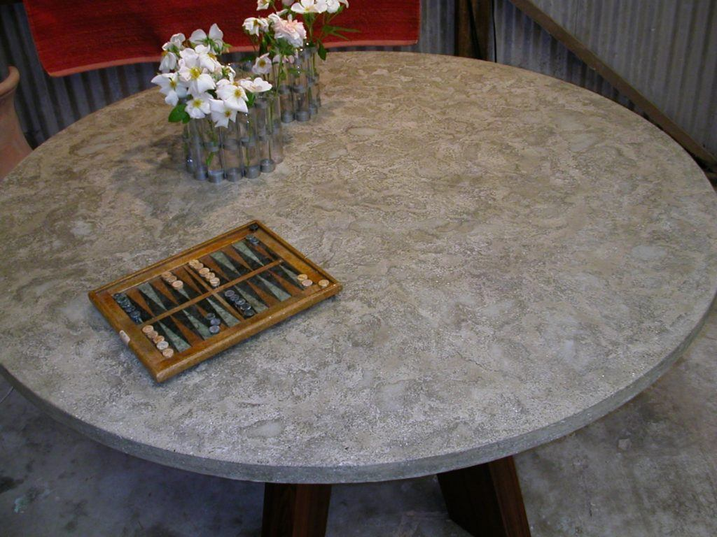 "Concrete 48"" Round Dining Table"